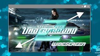 Colocar o Need for Speed Underground 2 em Widescreen - Jogar em tela cheia