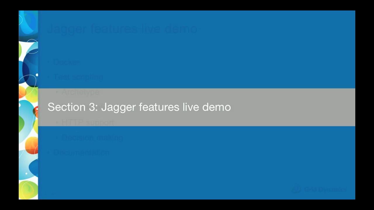 Jagger 2 0 performance testing framework
