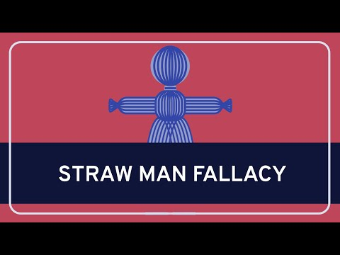 CRITICAL THINKING - Fallacies: Straw Man Fallacy [HD]
