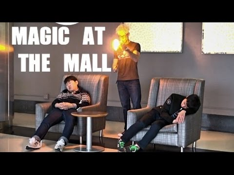 Using Magic To Trick People At The Mall