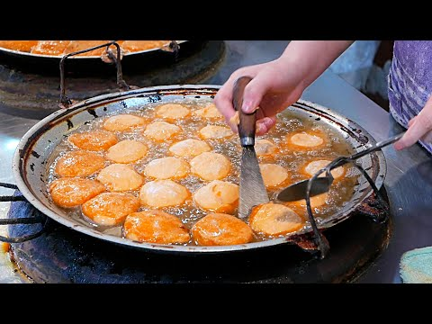 Xian Street Food - Fried Persimmon Chinese Donuts