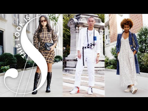 Guess Which Of These Outfits Costs $22,000 at Fashion Week | This Look Is Money | Harper's BAZAAR