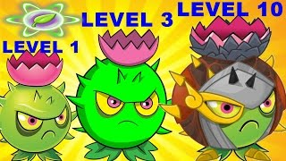 Homing Thistle Pvz2 Level 1-3-10 Max Level in Plants vs. Zombies 2: Gameplay 2017