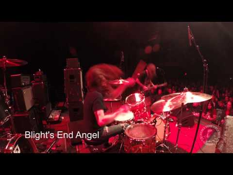 Nick Yacyshyn (SUMAC) Drum Cam live at Union Transfer, Aug. 11th, 2015