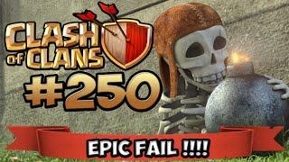 CLASH OF CLANS #250 ★ EPIC FAIL !!! DER LARS MAL WIEDER ★ Let's Play COC