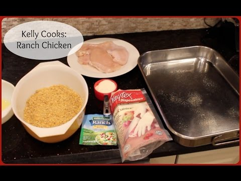 Kelly Cooks:Ranch Chicken