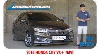 2018 Honda City VX+ Navi - Full Review