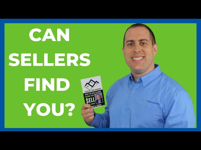 Can Motivated Sellers Find You?