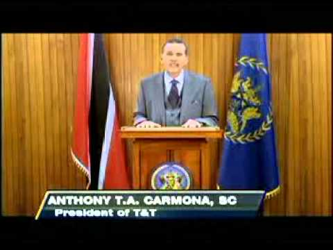 C News: President Anthony Carmona says Trinidad and Tobago has every reason to be proud