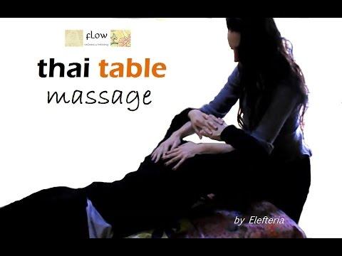 viby thai massage milking table