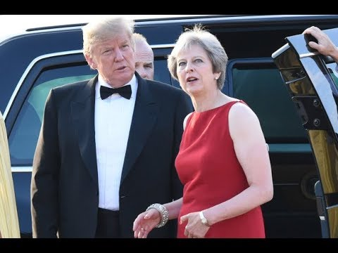 Trump apologizes to Theresa May for what he said about her in the Sun Newspaper Interview
