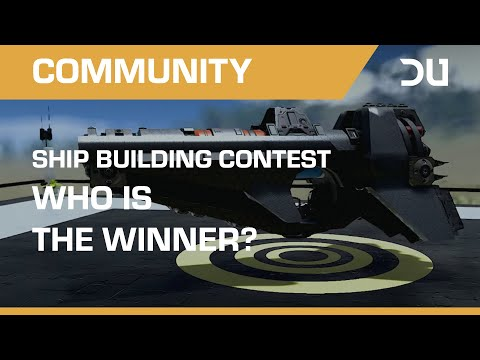 Dual Universe Ship Building Contest | Alpha