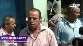 وقفة احتجاجية لصحفيي المصرى اليوم ضد الإجراءات التعسفية .. فيديو وصور