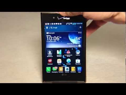 LG Intuition 4G LTE Review