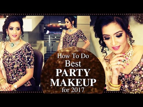 Easy Party Makeup Tutorial For Beautiful Looks