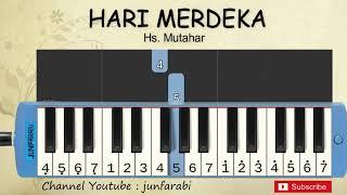 Gambar cover not pianika hari merdeka - belajar pianika