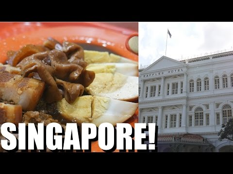 SINGAPORE TRAVEL: Dream Hotel ($700 a night!) & A lot of Delicious Food