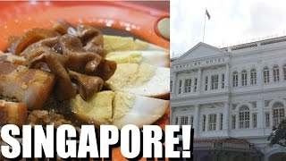 SINGAPORE: Dream Food & Dream Hotel ($700 a night!) - Singapore Travel Today