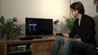 Installatie TV van KPN op een Sony LCD TV (Interactieve TV + Digitenne TV)
