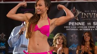 Invicta FC 8: Waterson vs Tamada Official Weigh-Ins