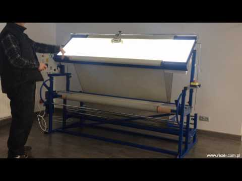 Fabric inspection machine PP-1/S