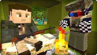 Нашел выжившего человека [ЧАСТЬ 36] Зомби апокалипсис в майнкрафт! - (Minecraft - Сериал)