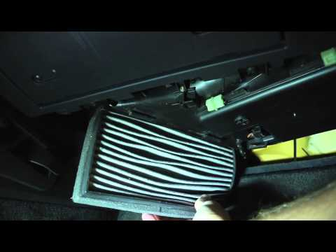 Mercedes Slk230 Cabin Air Filter Youtube