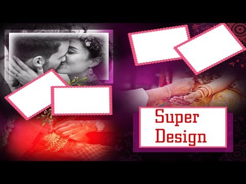 Download How to make wedding album template in Photoshop hindi tutorial