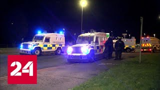 МВД Великобритании перебросило пять рот спецназа в Северную Ирландию - Россия 24