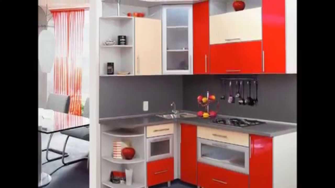 catalogo de muebles de cocina modelos rojos - YouTube