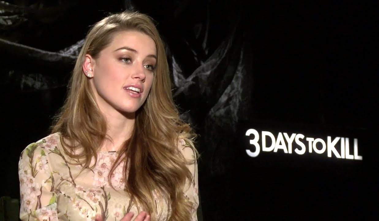 amber heard interview 3 days to kill hd exclusive youtube. Black Bedroom Furniture Sets. Home Design Ideas