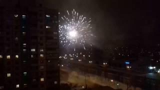 Салют. Волгоград. Новый год 2017г.(, 2016-12-31T23:26:11.000Z)