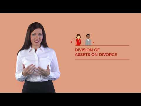 Separating Couples - Division of assets on divorce