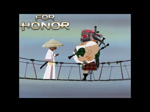 For Honor Samurai Jack and the Scotsman