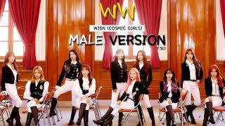 Cover images [Male ver.] WW_우주소녀 WJSN (Cosmic Girls)