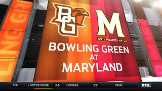 Bowling Green at Maryland - Football Highlights