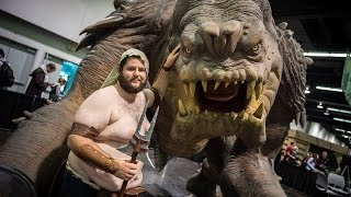 Making a Life-Size Rancor from Star Wars