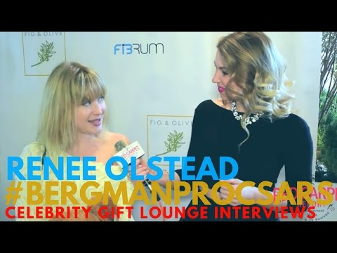 Renee Olstead interviewed at Doris Bergman PR's 9th Style Lounge & Party in Celebration of Oscars