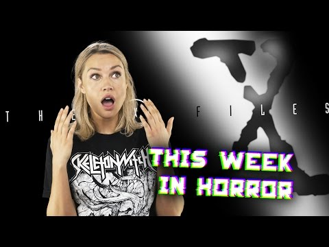 This Week in Horror - May 1, 2017 - Rawhead Rex, Unbreakable, X-Files