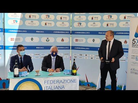 Europeo Baseball Piemonte 2021   Presentazione calendario e partnership Fondazione Candiolo