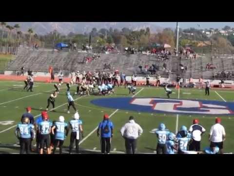 1st Drive Fbu San Diego Vrs Phoenix 2014 Youtube