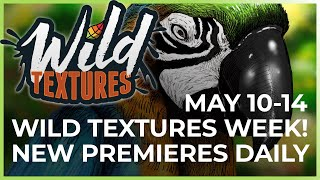 Wild Textures Week | Digital Coloring with Pigment
