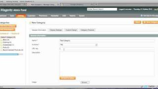 How to Add a Category in Magento 1.4