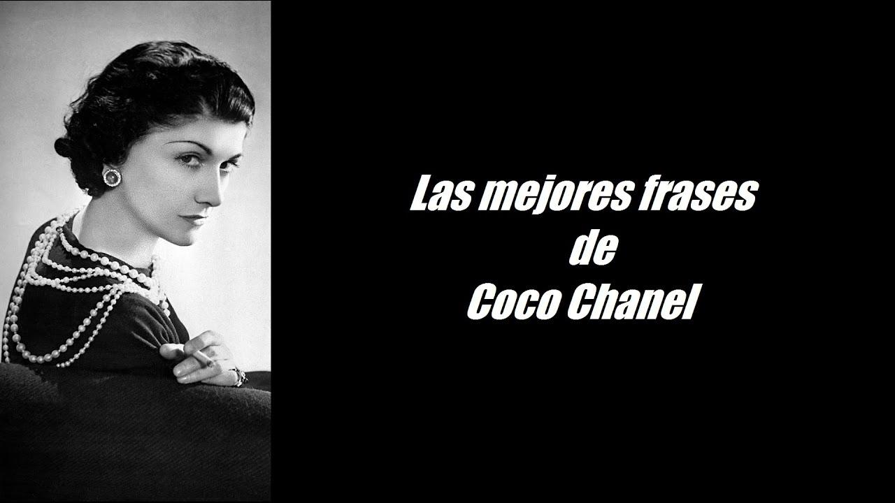 Frases Célebres De Coco Chanel Youtube