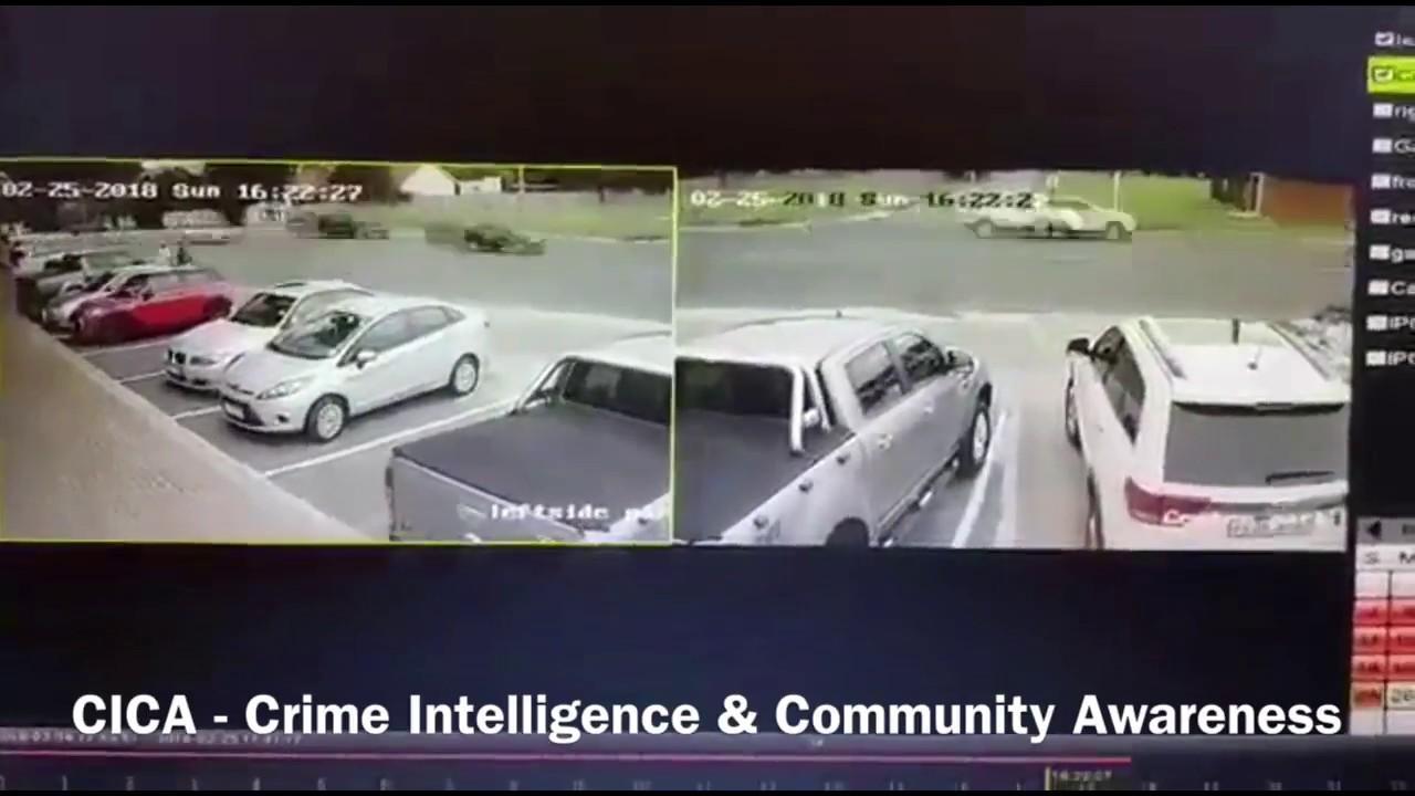 WATCH: Brazen criminals steal Ford Ranger bakkie in broad