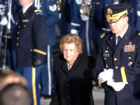 President Gerald Ford Funeral Arrival Departure Washington Youtube