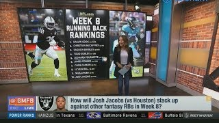 Fantasy Face/Off - How Will Josh Jacobs Stack Up Against Other RBs In Week 8?