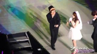 fancam 101016 SNSD ITNW 1st Asia Tour in Taipei -  Yoona solo feat. Leeteuk , Donghae