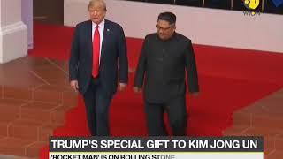 "President Trump to gift ""Rocket Man"" CD to Kim"