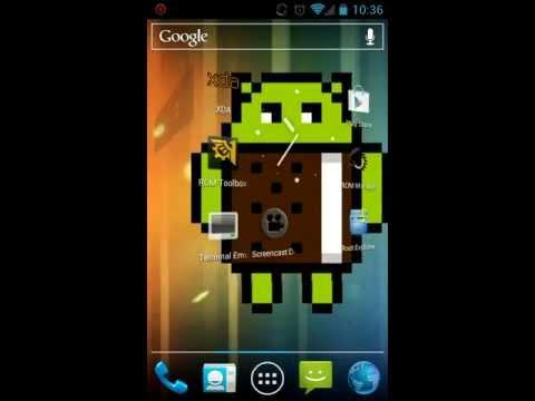 HTC EVO Shift 4G screen record test